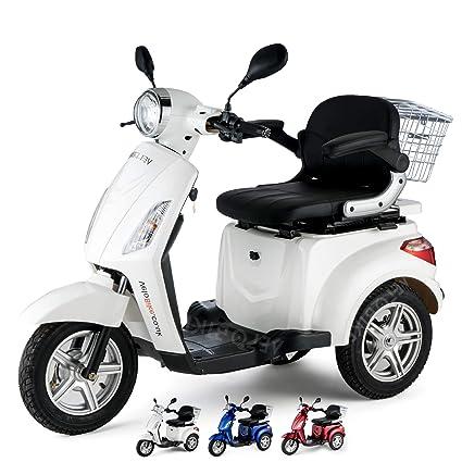 NUEVO Scooter Eléctrico de 3 Ruedas, Moto Para Personas ...