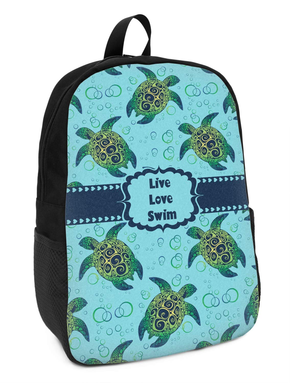 Personalized Sea Turtles Kids Backpack