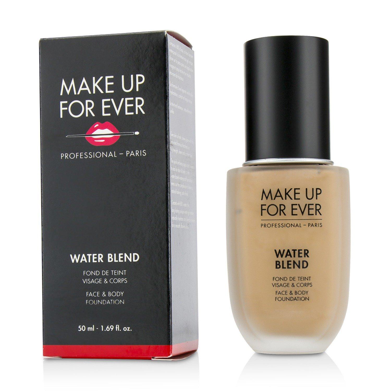 Make Up For Ever Water Blend Face & Body Foundation - # R370 (Medium Beige) 50ml/1.69oz