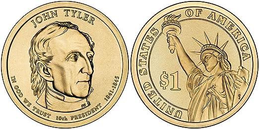 2009 P Tyler Presidential Dollar