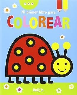 Mariquita. Mi Primer Libro Para Colorear