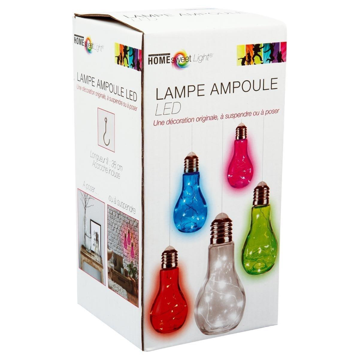 Ampoule Suspendre Coloris Led Poser Ou Lampe À Design rdQBoCexW