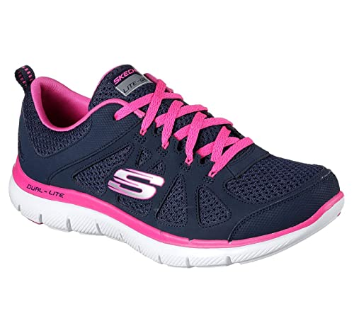 Skechers Women's Flex Appeal 2.0 Simplistic Sneaker Cushion Athletic Sneakers