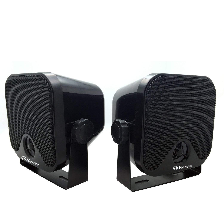 Marine 100 W 10,2 cm Mini Haut-parleurs Haut-parleurs système Audio stéréo étanche pour Moto ATV UTV Orateurs Tracteur Bateau Boîte Orateurs product image