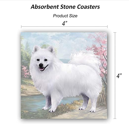 AMERICAN ESKIMO Funny Magnetic NOTEPAD List Note Pad