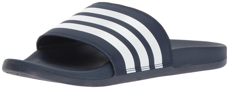 4bc9e4ee9093 Amazon.com  adidas Women s Adilette CF+ Stripes W Famous Slide Sandal  Shoes