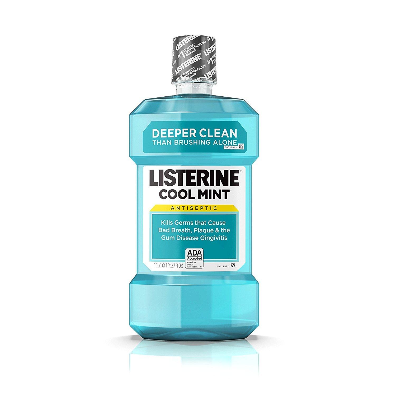Listerine Mint (1.5l) Size 50.7z Listerine Cool Mint Antiseptic Mouthwash