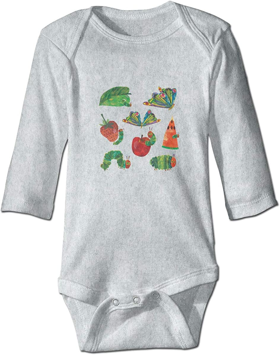 BOYS TOP LONG SLEEVED THE VERY  HUNGARY CATERPILLAR 9 MONTHS TO 5 YEARS