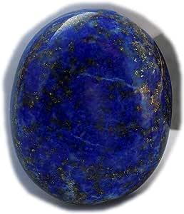 The Best Jewellery Lapis Lazuli cabochon, 54Ct Lapis Lazuli Gemstone, Oval Shape Cabochon For Jewelry Making (27x22x8mm) SKU-15120