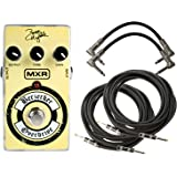 MXR ZW44 Zakk Wylde Berzerker Overdrive Pedal for Guitars with 2 Path Cables and 2 Instrument Cables