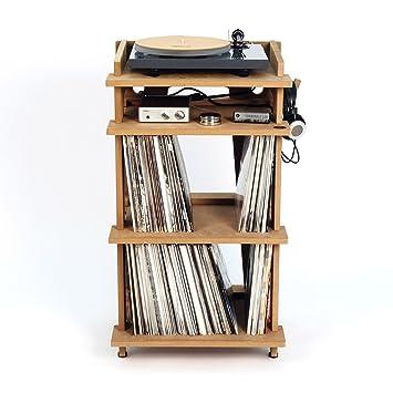 meuble pour platine et disques vinyles line phono pour platine amplificateur jusqu