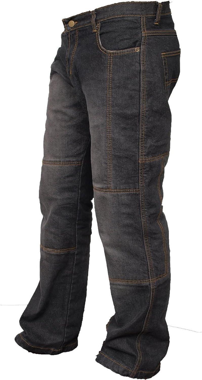 newfacelook Motorradhose R/üstungen Motorrad Hose Jeans Kommt mit Aramid verst/ärkt Schutzauskleidung