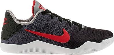 dd5a7572293 NIKE Kid s Kobe XI Elite GS Basketball Shoes 7Y M US Black Grey Red