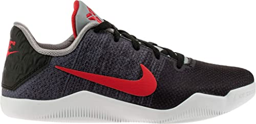 53ced7899ff1 Nike Kid s Kobe XI Elite GS Basketball Shoes 7Y M US Black Grey Red ...