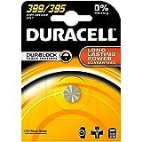 Duracell 399/395 - Pilas (Óxido de plata, Button/coin, Plata, 399/395)