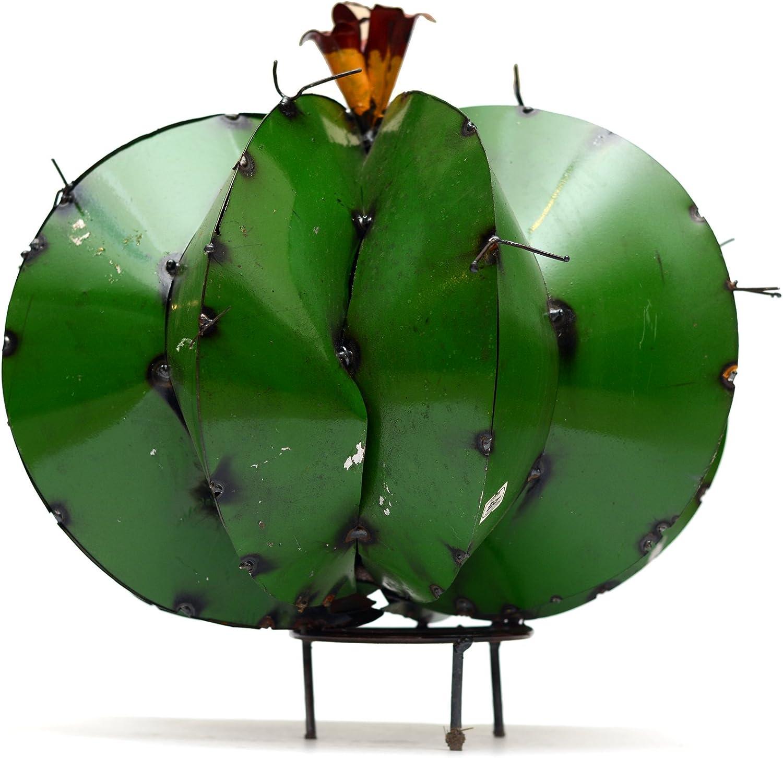 Rustic Arrow 100864 Mini Barrel Cactus, Multicolor