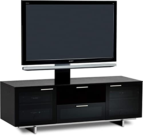 BDI 8937 Avion Noir Media Cabinet TV Stand