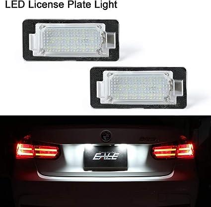 Luz de matrícula LED OZ-LAMPE 2 X Luz de la matrícula 18 SMD con ...