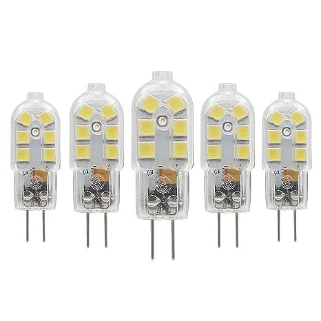 Bombilla LED G4, 2W (15W Equivalente a Halógena), Base Bipin, 150