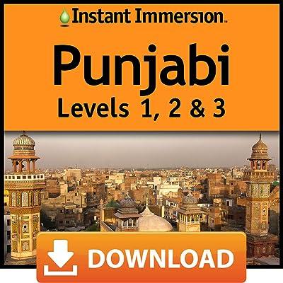 Instant Immersion Punjabi Levels 1, 2 & 3 [Online Code]