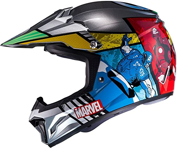 HJC cl de XY II - Avengers/mc21 - Cross Casco/Enduro casco/Moto Casco, gröàÿe: XL: Amazon.es: Coche y moto