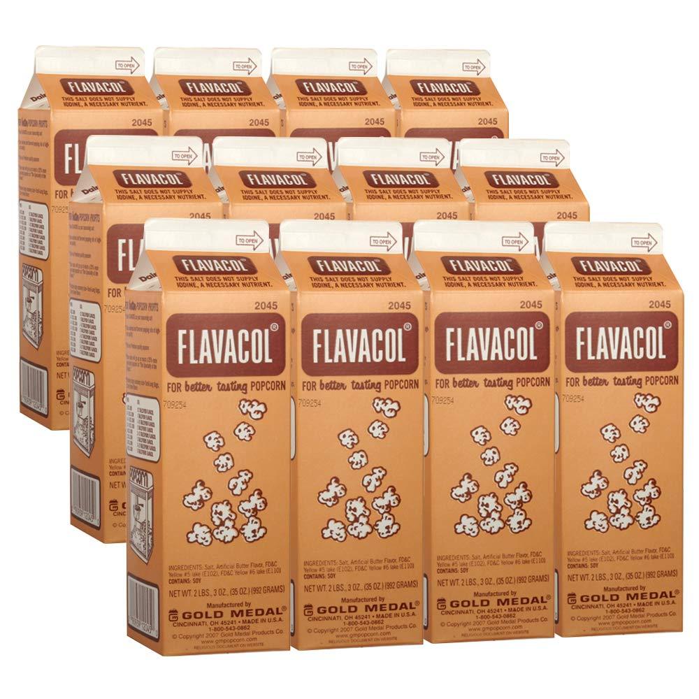 12-2 Lb. 3 oz. Cartons Flavacol Salt