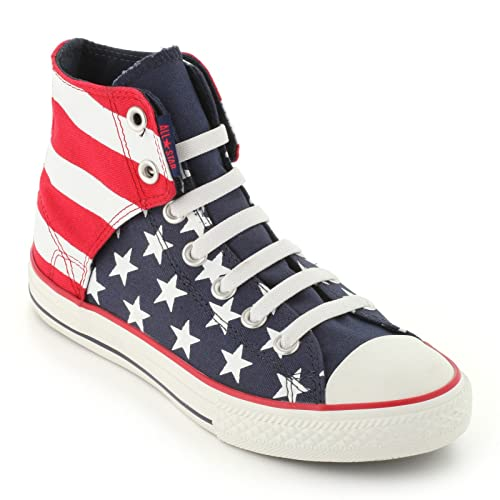 Converse Junior Chuck Taylor Easy Slip On Red White Blue (6) 4b780105d
