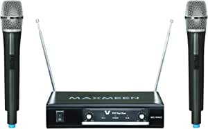 Maxmeen Wireless Set with 2 Handheld Microphones, MG-W442