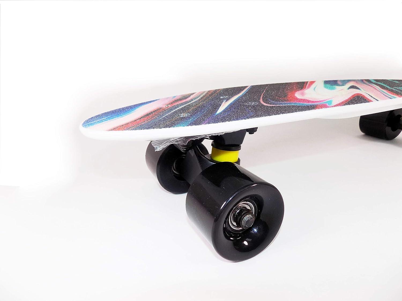 Rekon Plastic Skateboard cuiser Board Graphic Grip