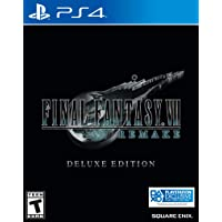 Final Fantasy VII Remake Deluxe Edition for PlayStation 4