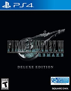 Final Fantasy VII Remake - PlayStation 4 Deluxe Edition