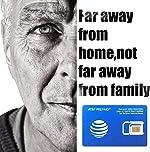 AT&T Prepaid USA Sim Card-Unlimited Talk, Text, and 22GB 4G LTE