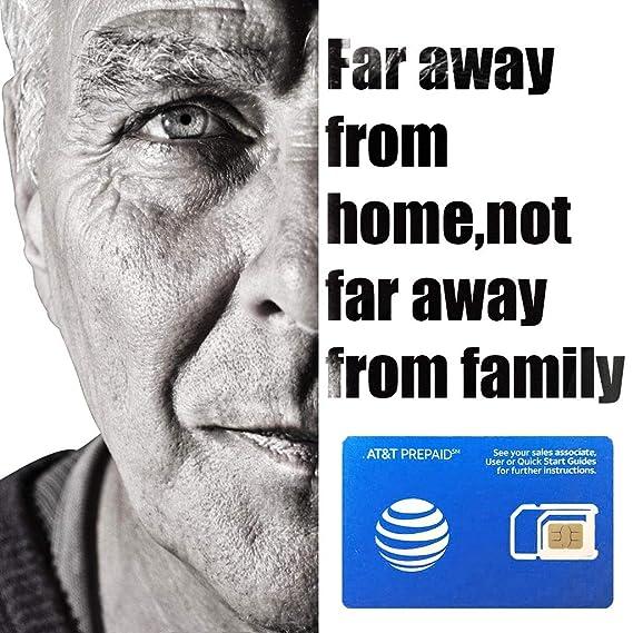 AT&T - Tarjeta SIM prepagada para Estados Unidos Canadá y ...