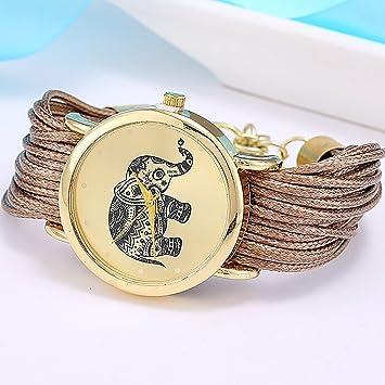Amazon.com : new Relojes Mujer Jewelry Fashion Women Dress Brand Elephant Design Bracelet Watch Montre Femme Quartz Watch Relogio Feminino : Everything Else