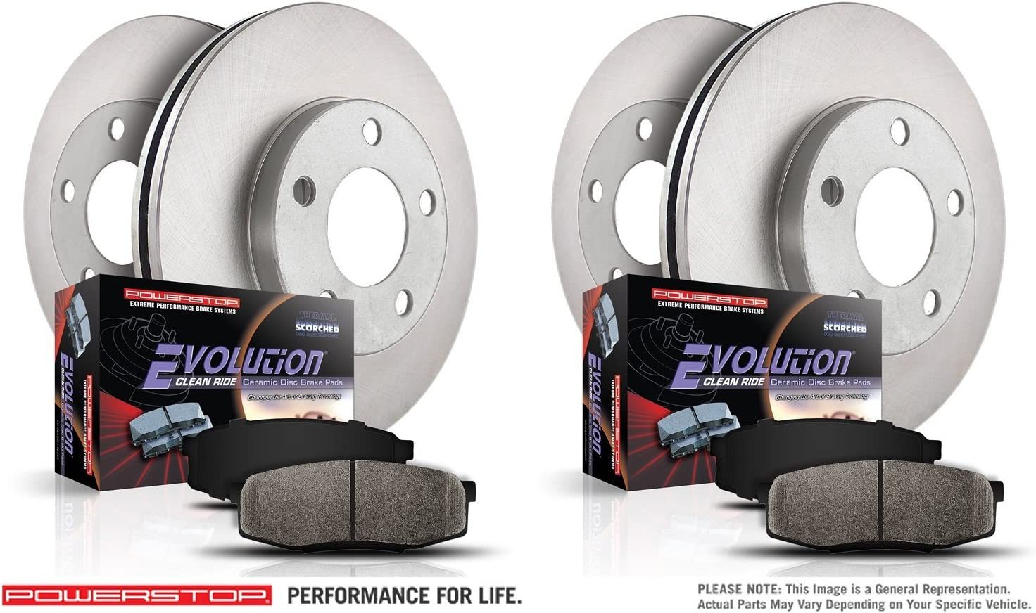 Autospecialty KOE1424 1-Click OE Replacement Brake Kit