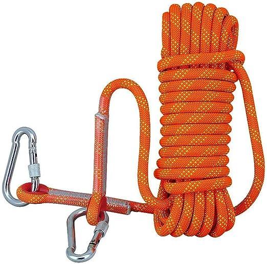 NOSSON Cuerda de Escalada en Roca, Cuerda de Camping con ...