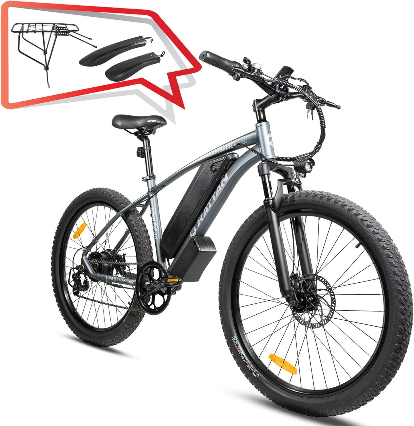 R Ratan electric mountain bike
