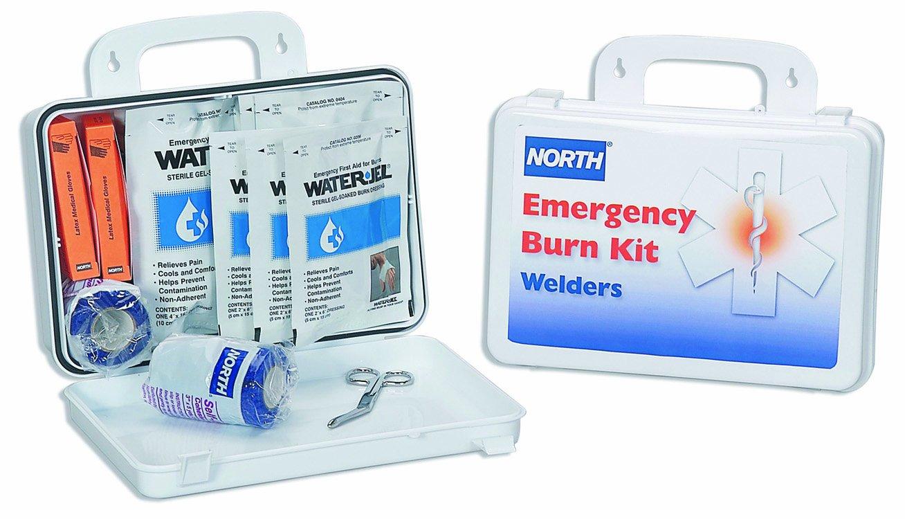 North by Honeywell 01976-0013L Welders Burn Kit, 16 Unit, Plastic