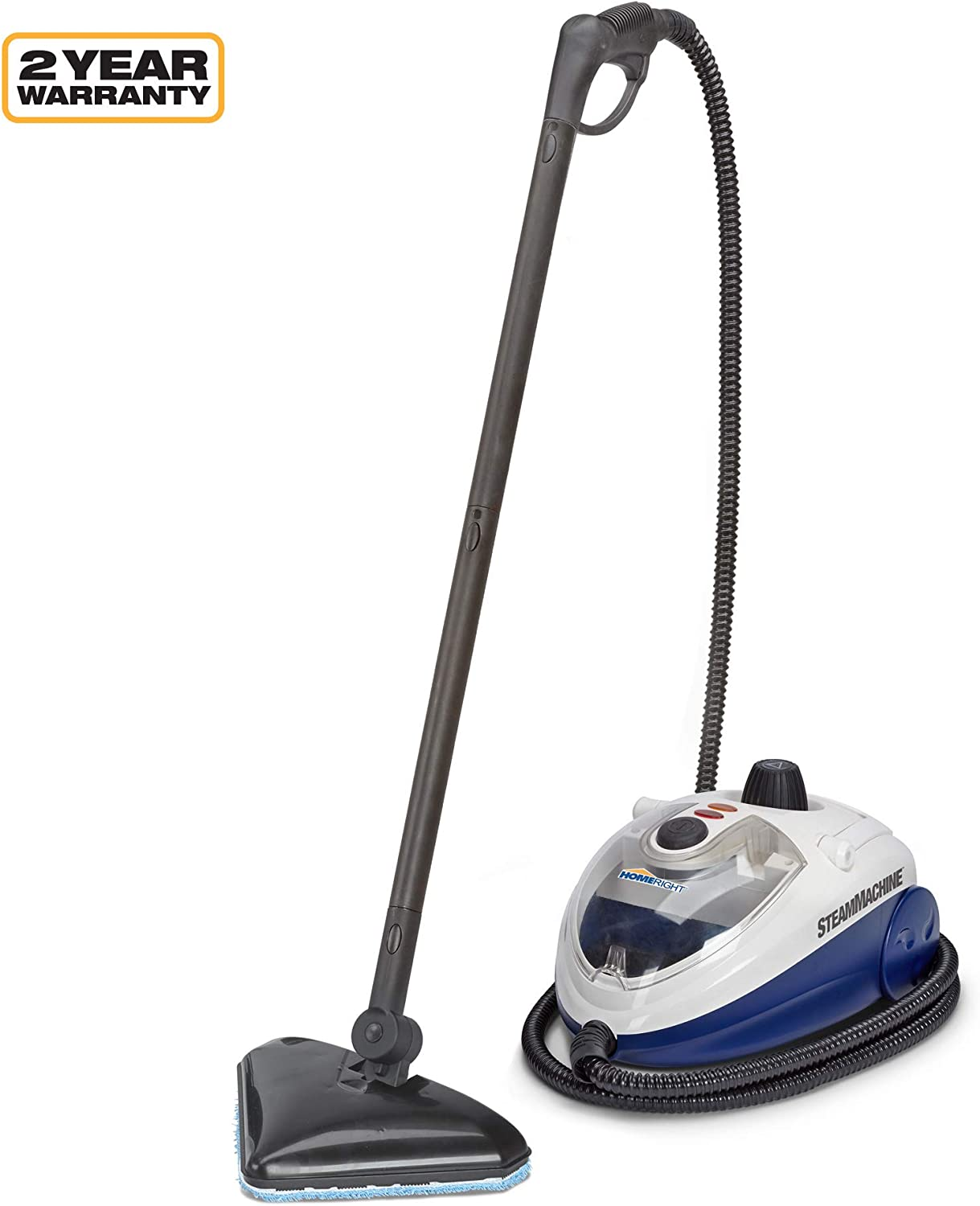 Hose Accessories and Pieces Portable Steam Cleaner w// 8 ft Microfiber Towel