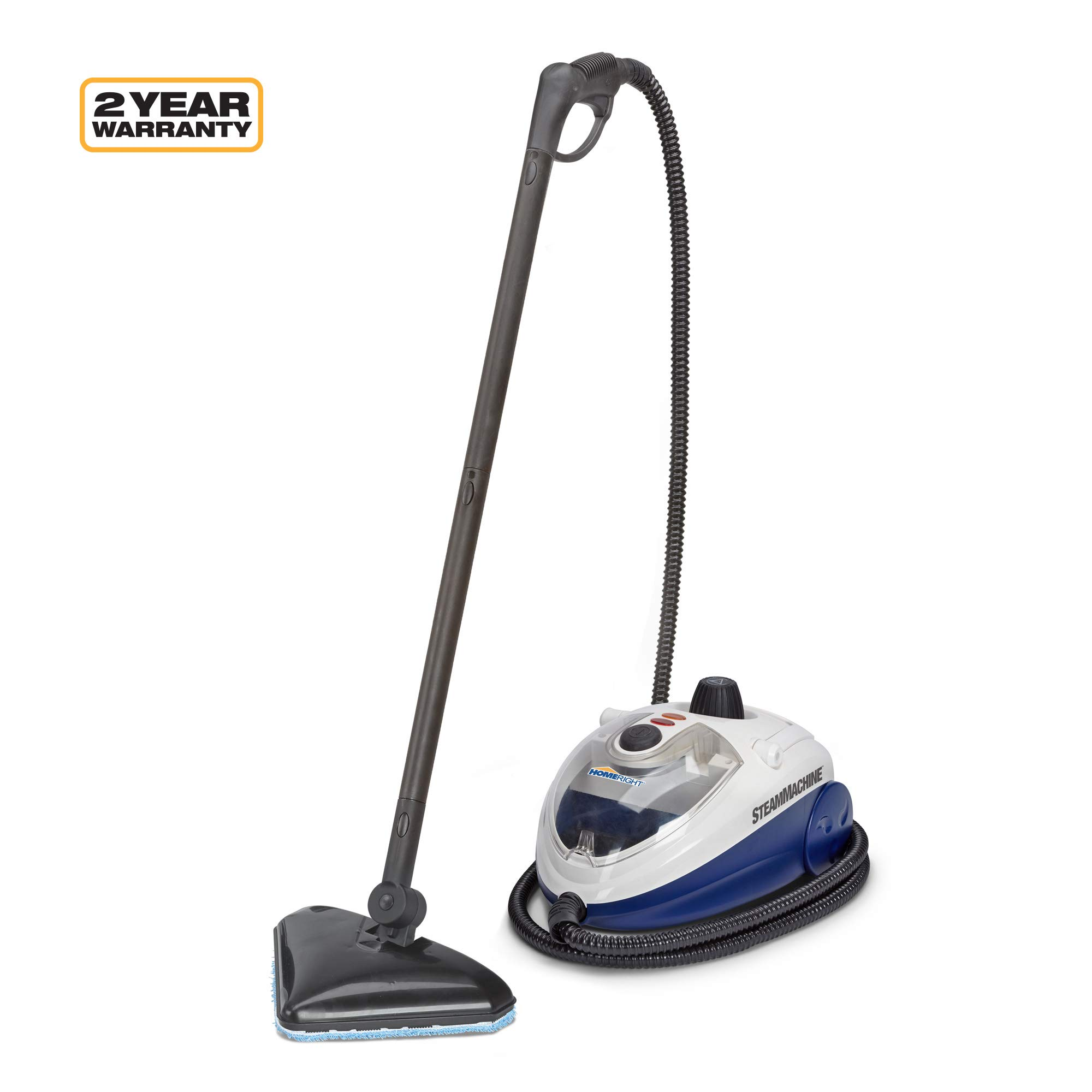 Wagner Spraytech C900134.M SteamMachine Elite Multi-Purpose Mop with 20 Accessories for Chemical-Free Steam Cleaning, Hardwood Floors, Tile, White by Wagner Spraytech
