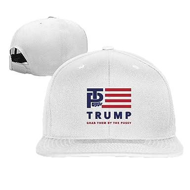 Unisex Trump Pussy trucker hat White One Size at Amazon Men s ... 31fd970ea8cb