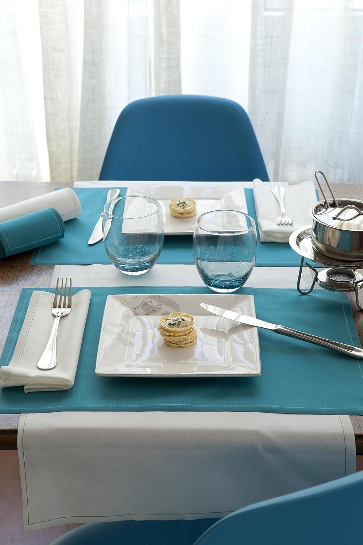 Luncheon Napkin Ecru Mydrap Rotolo tovagliolo per Il Pranzo 100/% Cotone 20,1/cm x 20,1/cm con 25/tovaglioli per Rotolo Cotone