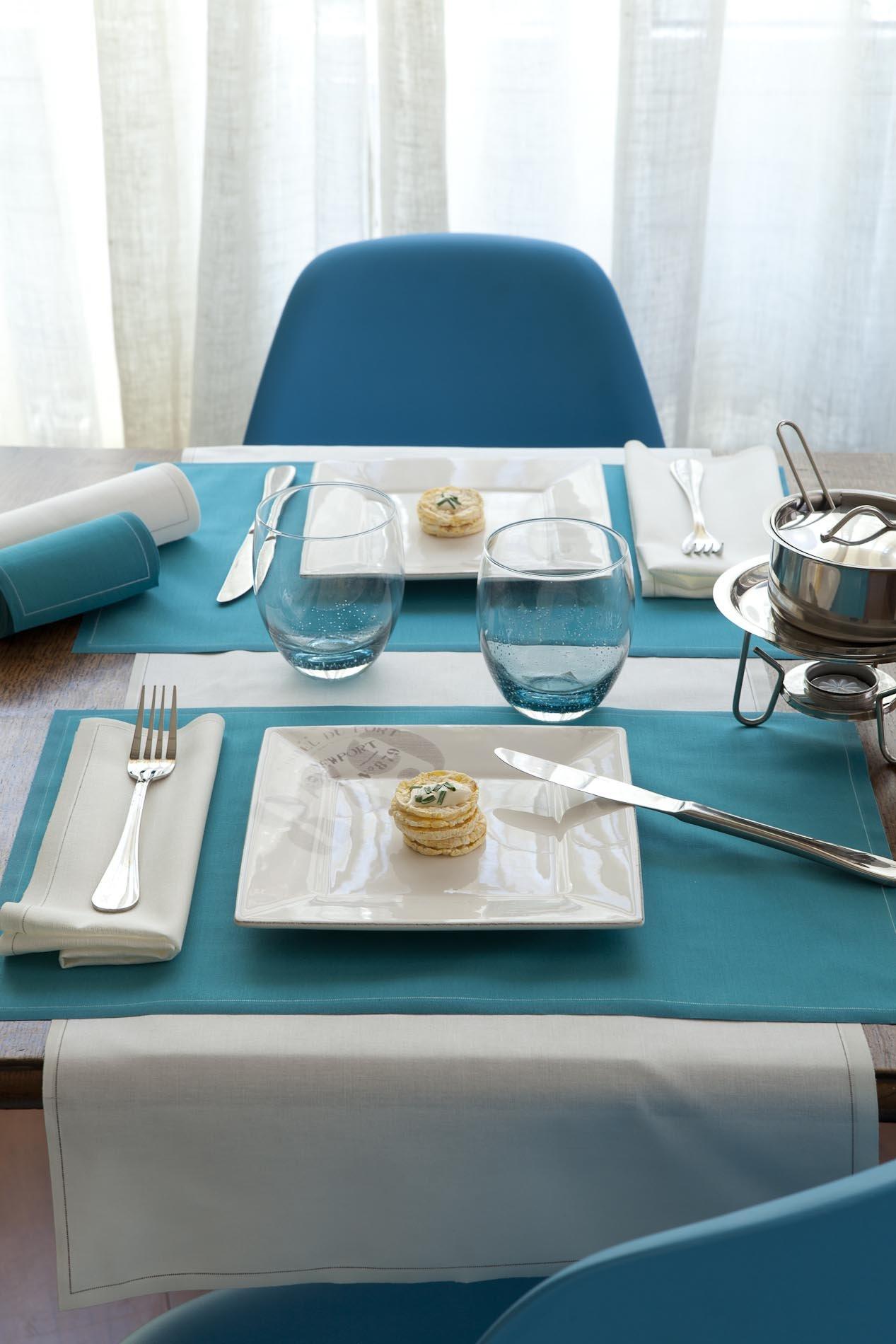 Cotton Dinner Napkin - 12.6 x 12.6 in - 12 units per roll - Ecru by MYdrap (Image #4)
