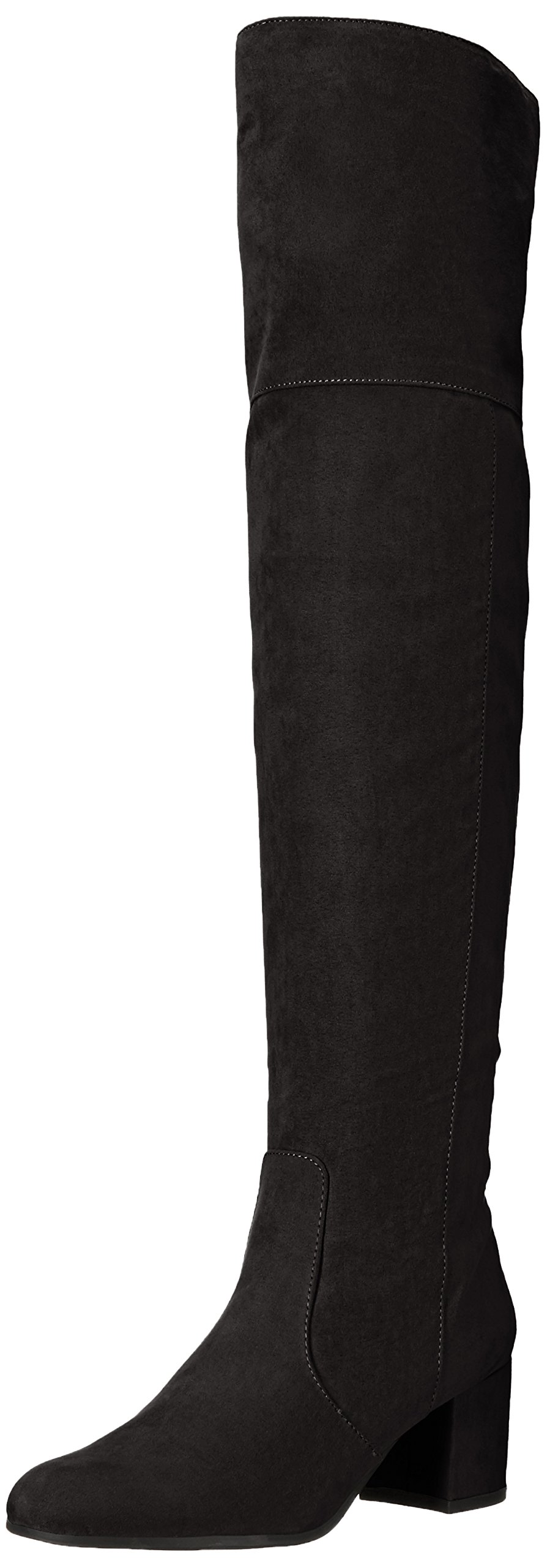 Circus by Sam Edelman Women's Vivica Over The Knee Boot, Black, 6.5 Medium US