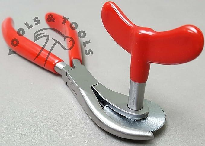 resistente in acciaio chirurgico con manici in PVC Pinza taglianelli di emergenza 16,5 cm