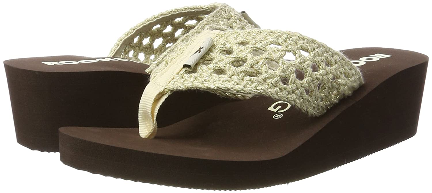 Rocket Dog Aviara - Sandalias Mujer, Beige (Stapleton Natural), 41 EU