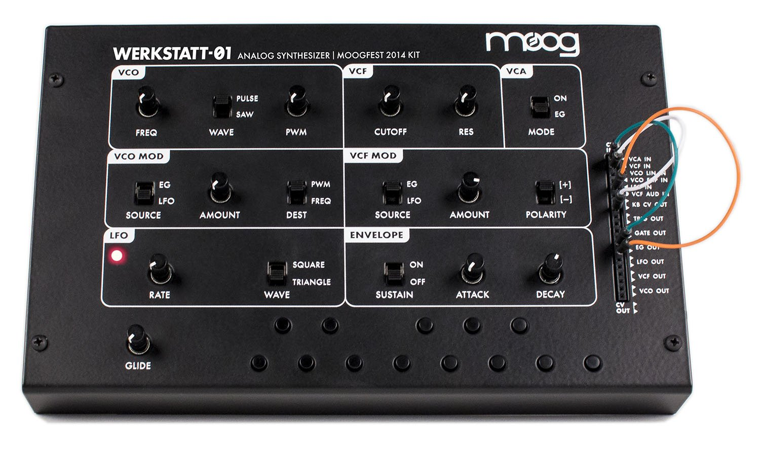 Moog Werkstatt-01 - Analog Synthesizer Kit