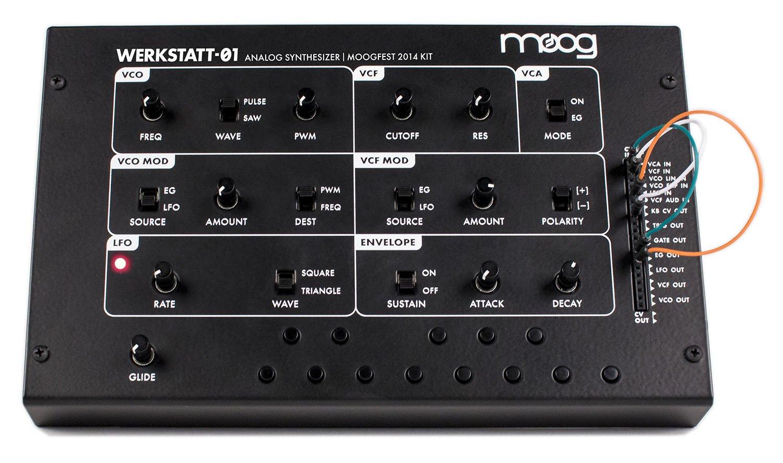 Moog Werkstatt-01 - Analog Synthesizer Kit
