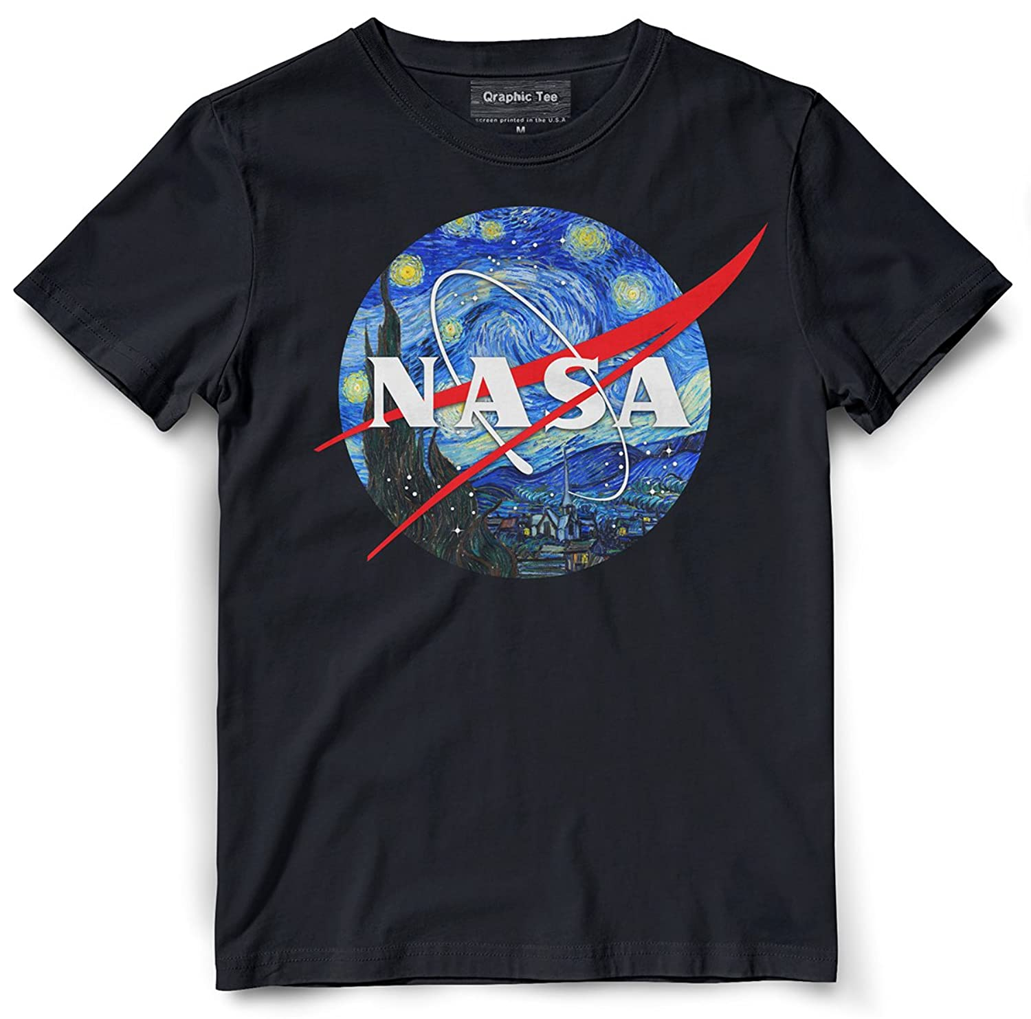8ebe4f62 Top11: NASA t-shirt, Starry Night t-shirt, SpaceX, Science, Space, Elon  Musk, Engineer