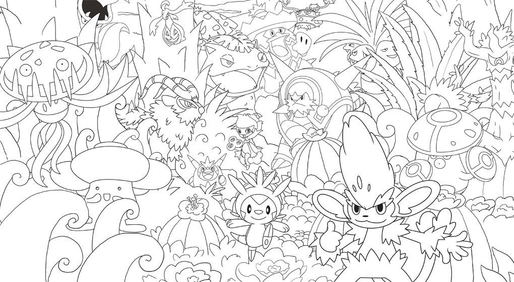 official pokmon creative colouring amazoncouk pokmon 9781408349946 books - Picture For Colouring
